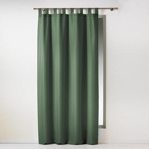 Wicotex Gordijnen-Kant en klaar- met ophanglus 140x260cm uni polyester groen