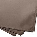 Wicotex Servetten essentiel  40x40cm taupe 3 pieces polyester