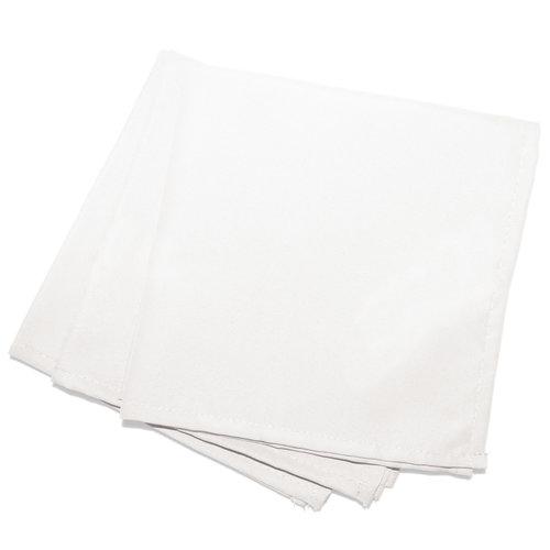 Wicotex Servetten Essentiel  40x40cm wit 3 stuks polyester