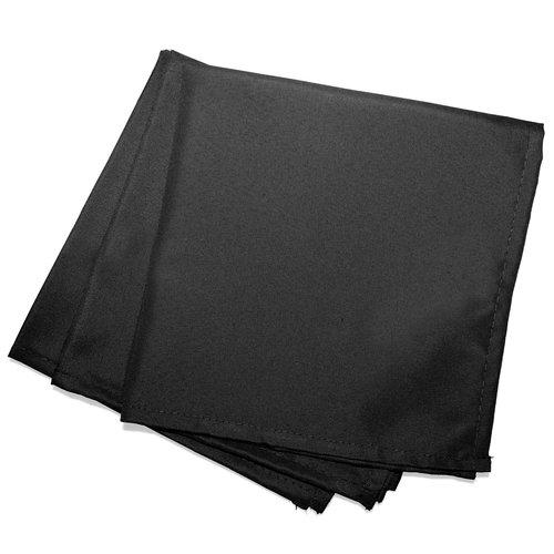 Wicotex Servetten Essentiel  40x40cm  schwarz 3 stück polyester