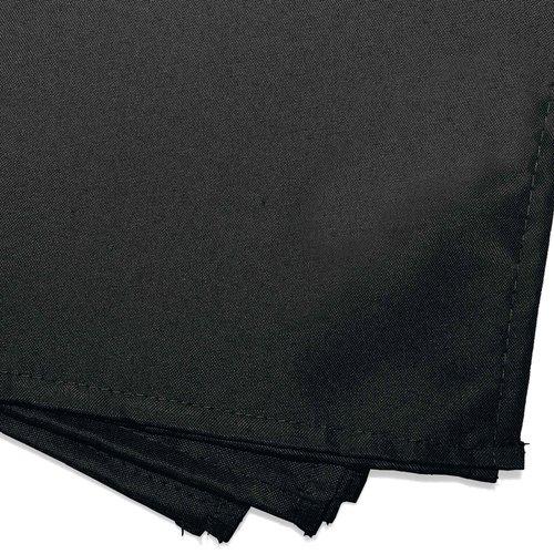 Wicotex Servetten essentiel  40x40cm black  3 pieces polyester