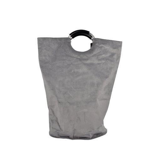 Wicotex Laundry basket pocket model gray 36x61cm