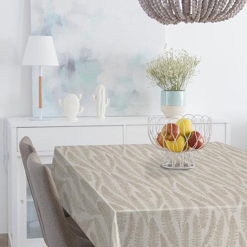 PVC tablecloth Muel beig