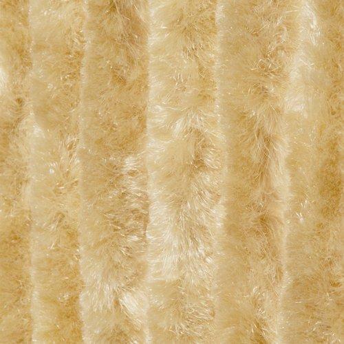 Wicotex Vliegengordijn-kattenstaart- 90x220cm beige uni in doos