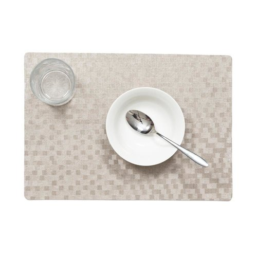 Placemats Dijon taupe packed per 12 pieces