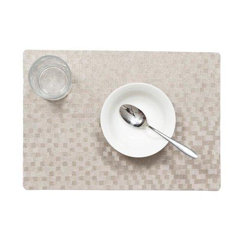 Tischsets Dijon Taupe verpackt pro 12 Stück