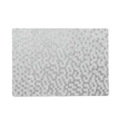 Placemats Dijon silver packed per 12 pieces