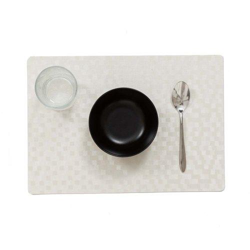 Tischsets Dijon weiß verpackt pro 12 Stück
