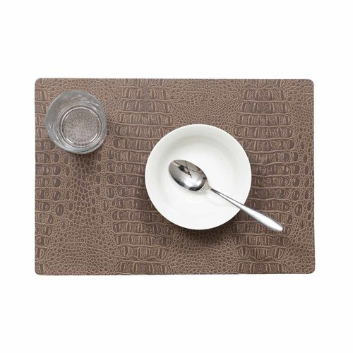 Placemats Coko marron packed per 12 pieces