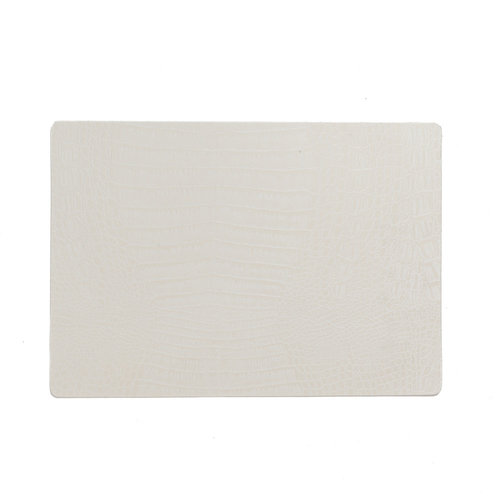 Placemats Coko white packed per 12 pieces
