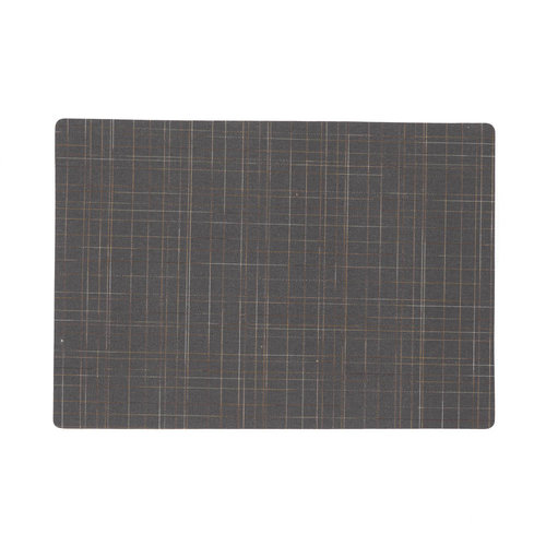 Place mats Damero Liso gray packed per 12 pieces
