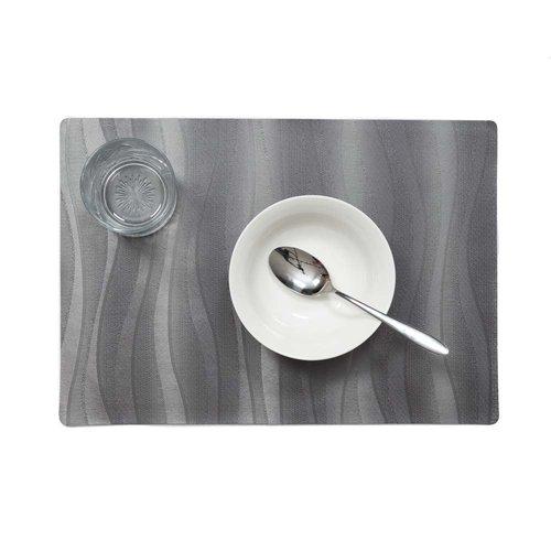 Tischsets Onix Anthrazit verpackt pro 12 Stück