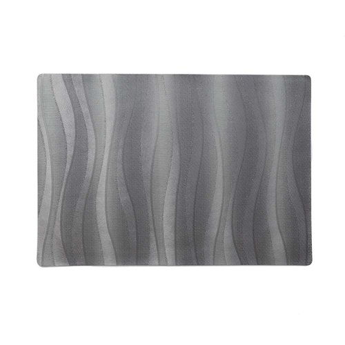 Placemats Onix anthracite packed per 12 pieces