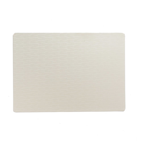 Placemats Jaspe white packed per 12 pieces