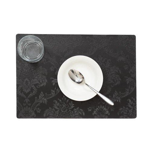 Tischsets Amatista schwarz verpackt pro 12 Stück