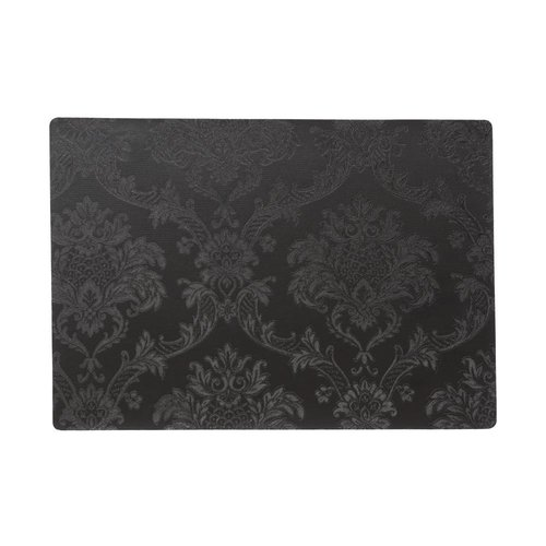Placemats Amatista black packed per 12 pieces