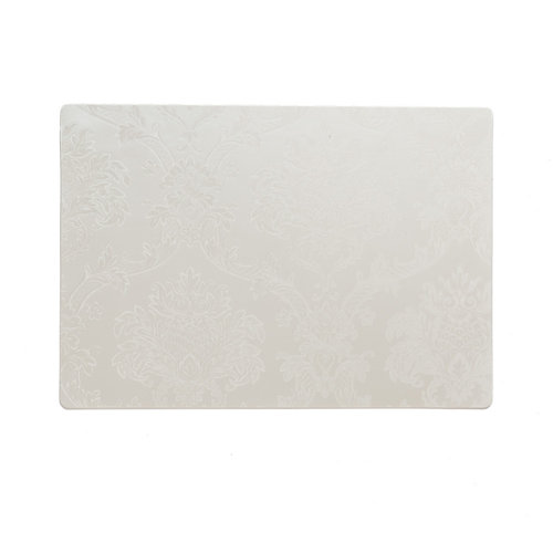 Placemats Amatista white packed per 12 pieces