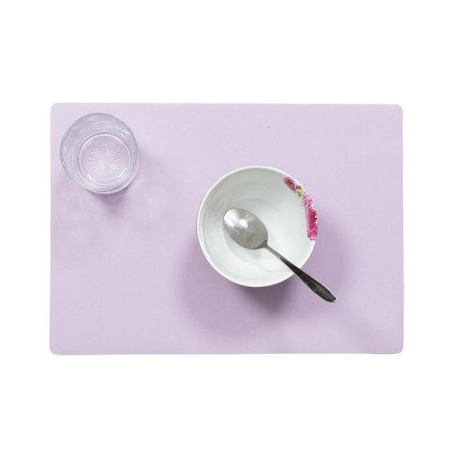 Placemats Uni lavandel MINIMALE BESTELEENHEID 12 STUKS