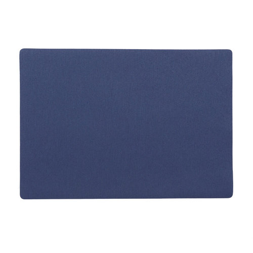 Placemats Uni dark blue packed per 12 pieces