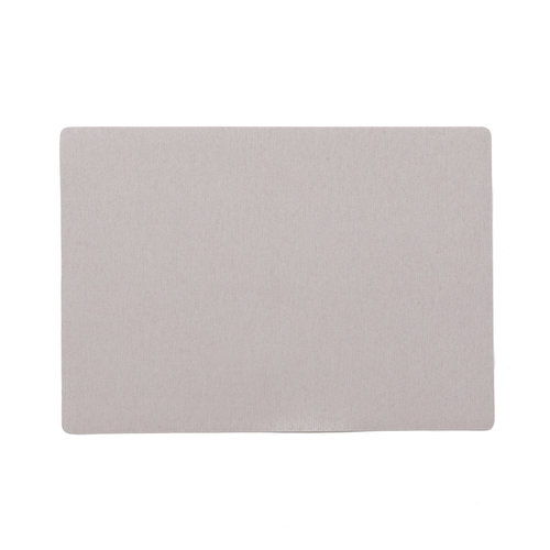 Placemats Uni light gray packed per 12 pieces