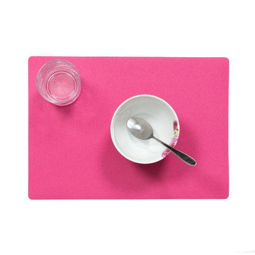 Tischsets Uni Fuchsia verpackt pro 12 Stück
