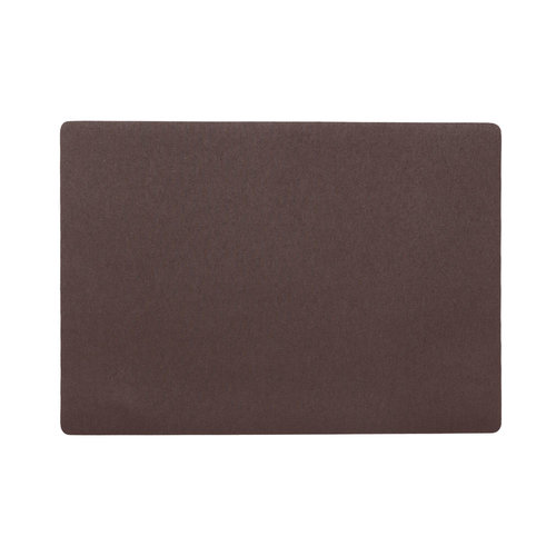 Placemats Uni chocolate packed per 12 pieces