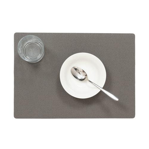 Tischsets Uni Anthrazit verpackt pro 12 Stück