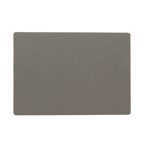 Placemats Uni anthracite packed per 12 pieces