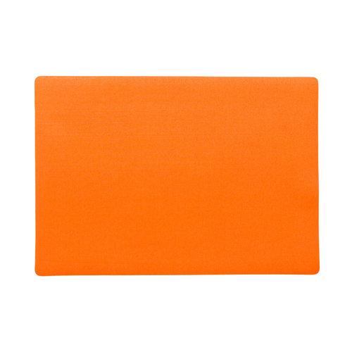 Tischsets Uni Orange verpackt pro 12 Stück