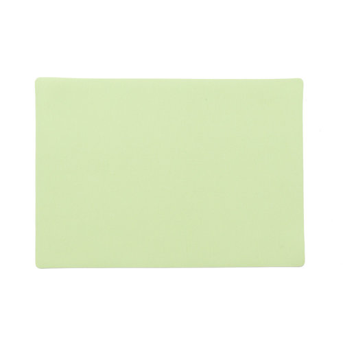 Placemats Uni green packed per 12 pieces