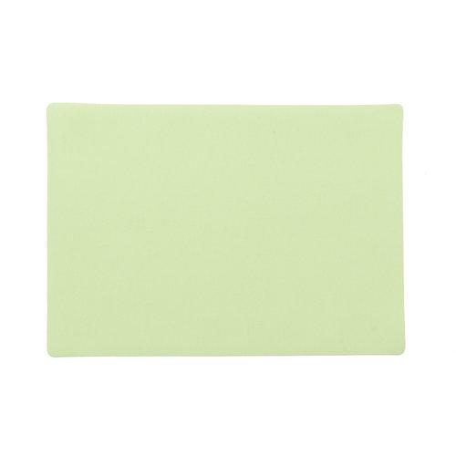 Placemats Uni groen MINIMALE BESTELEENHEID 12 STUKS
