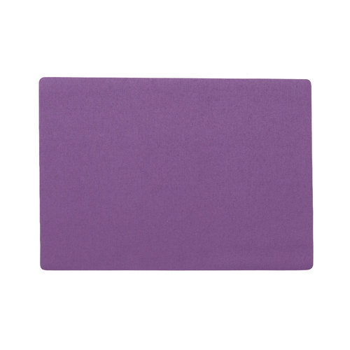 Placemats Uni purple packed per 12 pieces
