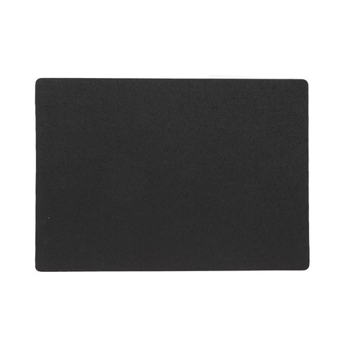 Placemats Uni black packed per 12 pieces