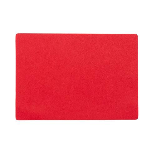 Tischsets Uni rot verpackt pro 12 Stück