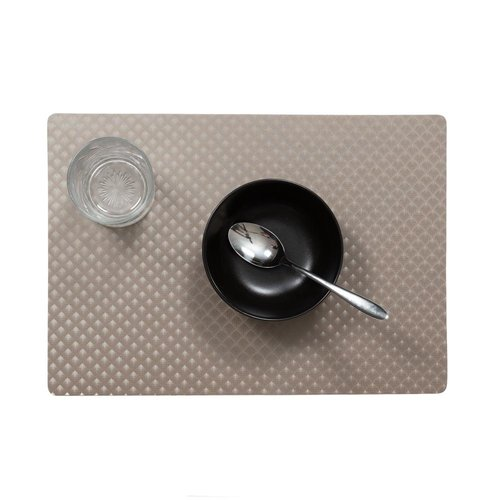 Placemats Zafiro gray packed per 12 pieces