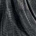 Wicotex Plaid-dekens- flannel/sherpa 125x150cm Zema grijs polyester