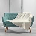 Wicotex Plaid-dekens- flannel/sherpa 125x150cm Zema naturel polyester