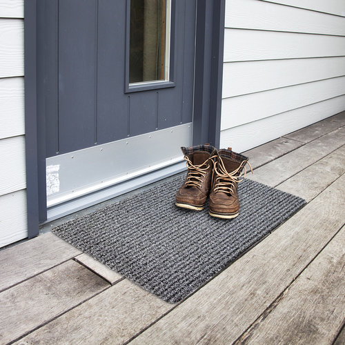 Wicotex Doormat outdoor 50x80cm  gray black