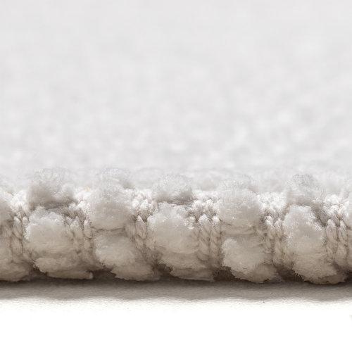 Badematte Klassische Braid  60x90cm weiß