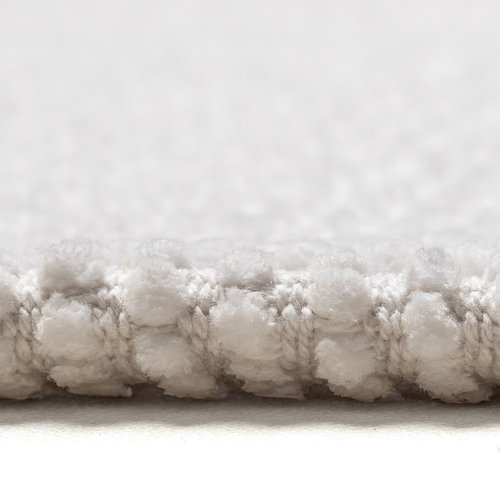 Classic Braid bath mat 60x90cm white