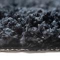 Classic Pure 60x90 cm black bath mat