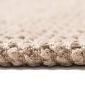 Bidet mat Classic braid 50x60cm taupe