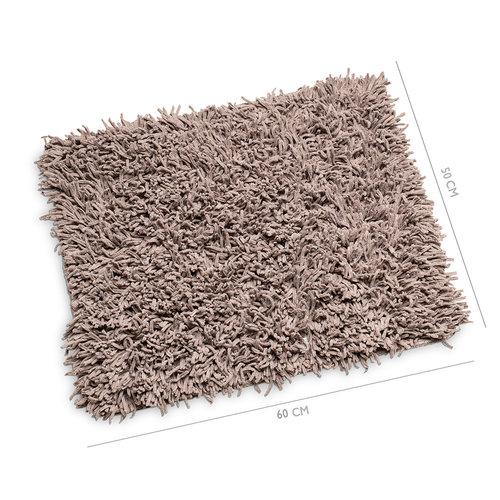 Bidet mat Classic Pure excellent 50x60cm taupe