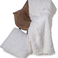 Wicotex Decokissen jacquard Cube beige 50x50cm polyester