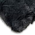Wicotex Plaid jacquard Cube dunkelgrau 150x200cm polyester