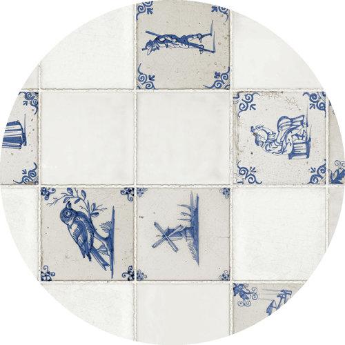 PVC Tischdecke Delft 160 cm
