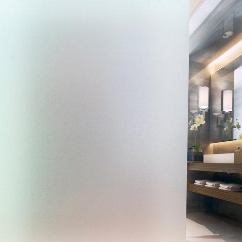 Static window film 90cm x 20 m. 0.25mm tickness frost