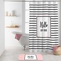 Duschvorhang Textil Amour  180x200 cm