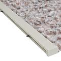 Wicotex Flauschvorhang 90x220 cm grau / braun / weiß Mischung in box