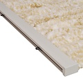 Cattail 100x240 cm beige / white mix in box